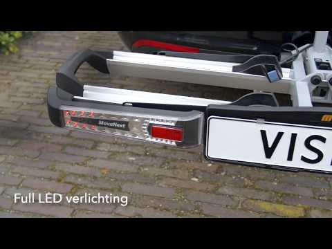 Movanext Lux Vision Fietsendrager - Productdemonstratie