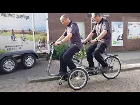 copilot 3 tandem fiets