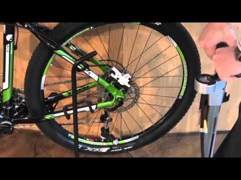 Hogedrukpomp fiets