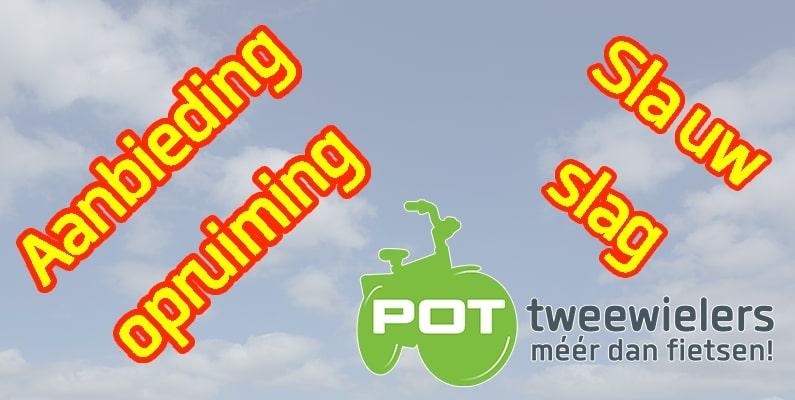 aanbieding Pot tweewielers